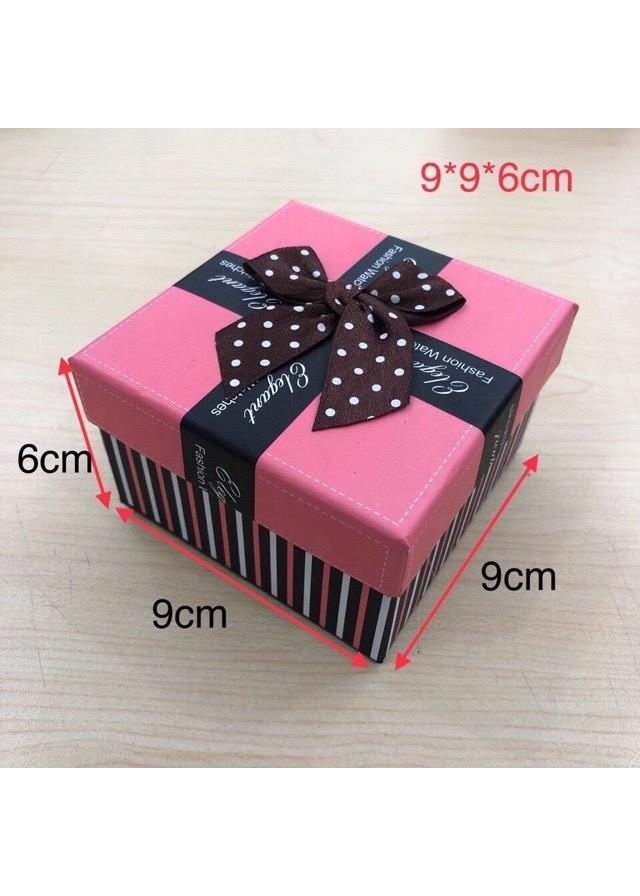 Hộp nơ đựng đồng hồ 2 màu xinh xắn dùng làm quà tặng