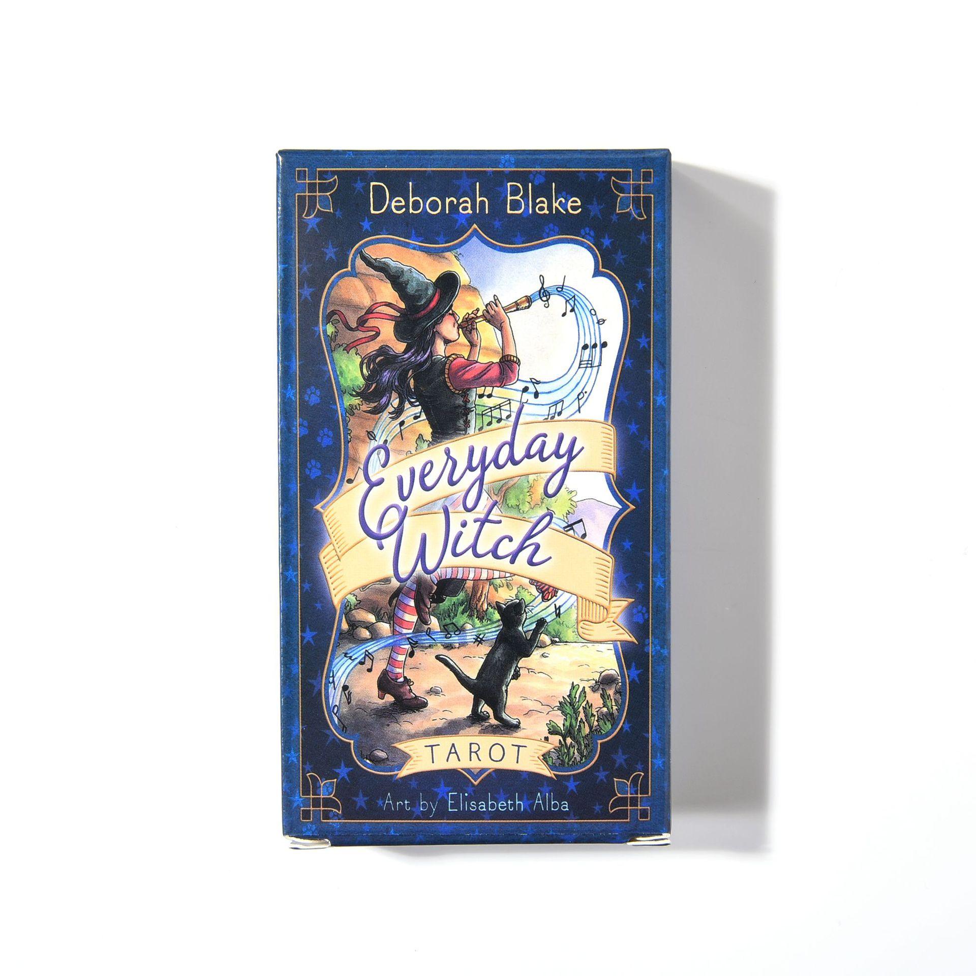 Bộ Bài Bói Everyday Witch 78 cards Tarot Cao Cấp Bản Đẹp