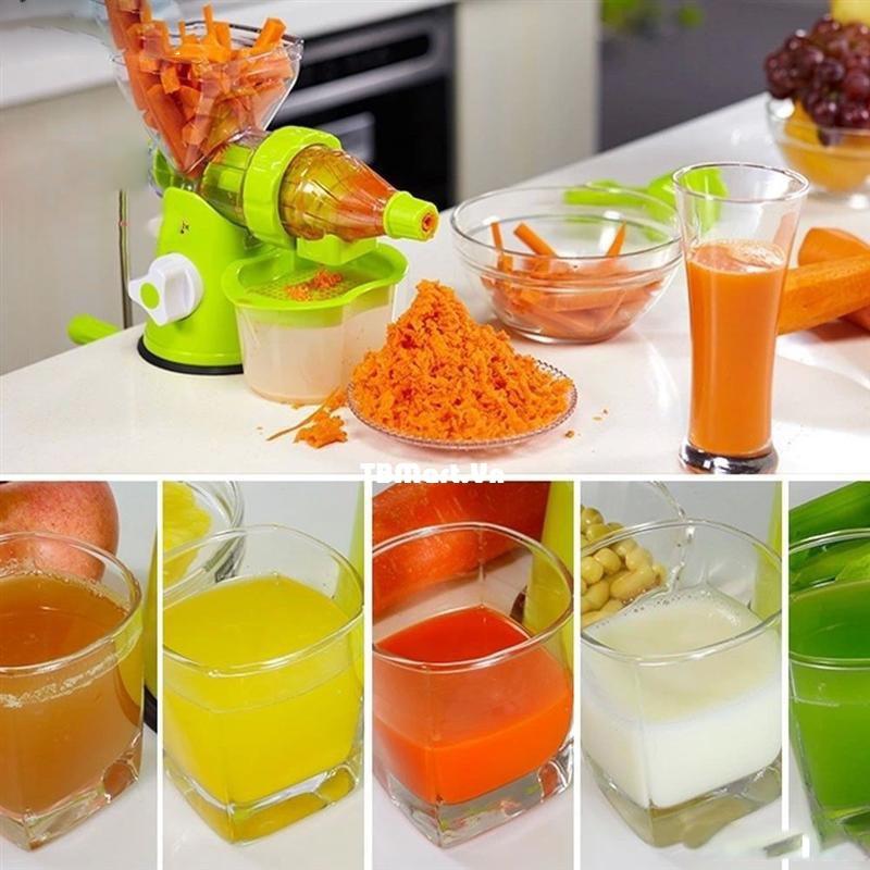 Máy xay ép hoa quả bằng tay tiện dụng, dễ dàng