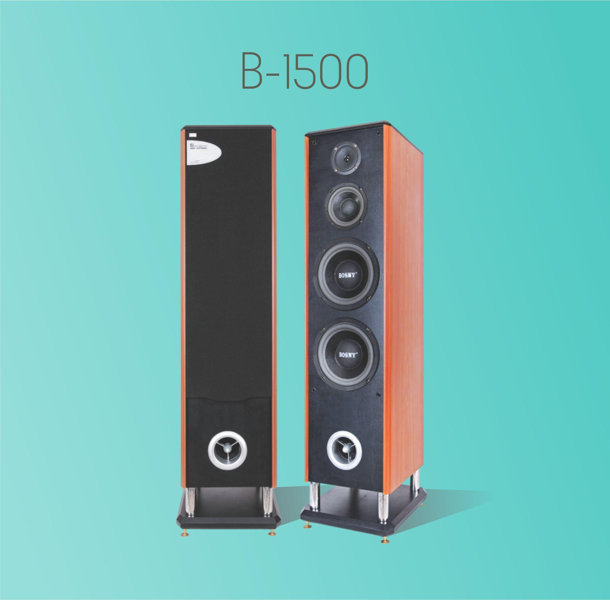 LOA ĐỨNG KARAOKE BOSNY B-1500 (Hàng chính hãng)