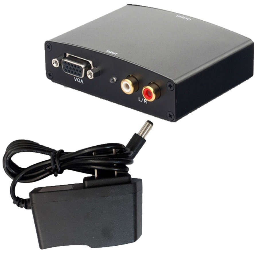 Bộ chuyển VGA ra HDMI kèm âm thanh TC-A201