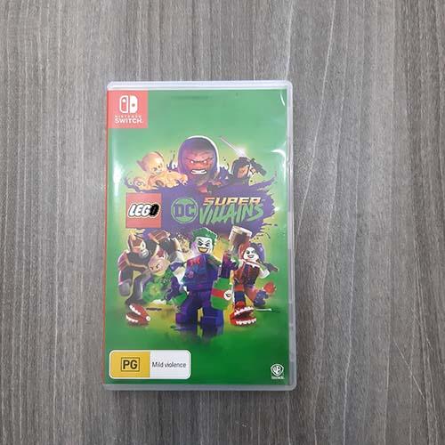"""Đĩa Game Nintendo Switch """" LEGO DC Super-Villains """" Cũ >> Hàng Nhập Khẩu"""