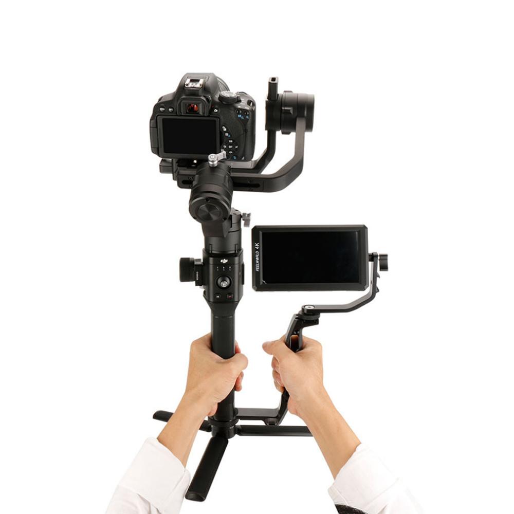 Phụ Kiện Quay Phim | Tay Cầm Mở Rộng Cho Gimbal, Agimbal Gear Camera Vlog Gears - Hàng Chính Hãng