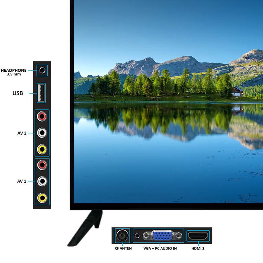 Tivi LED Asanzo HD 32 inch 32H22