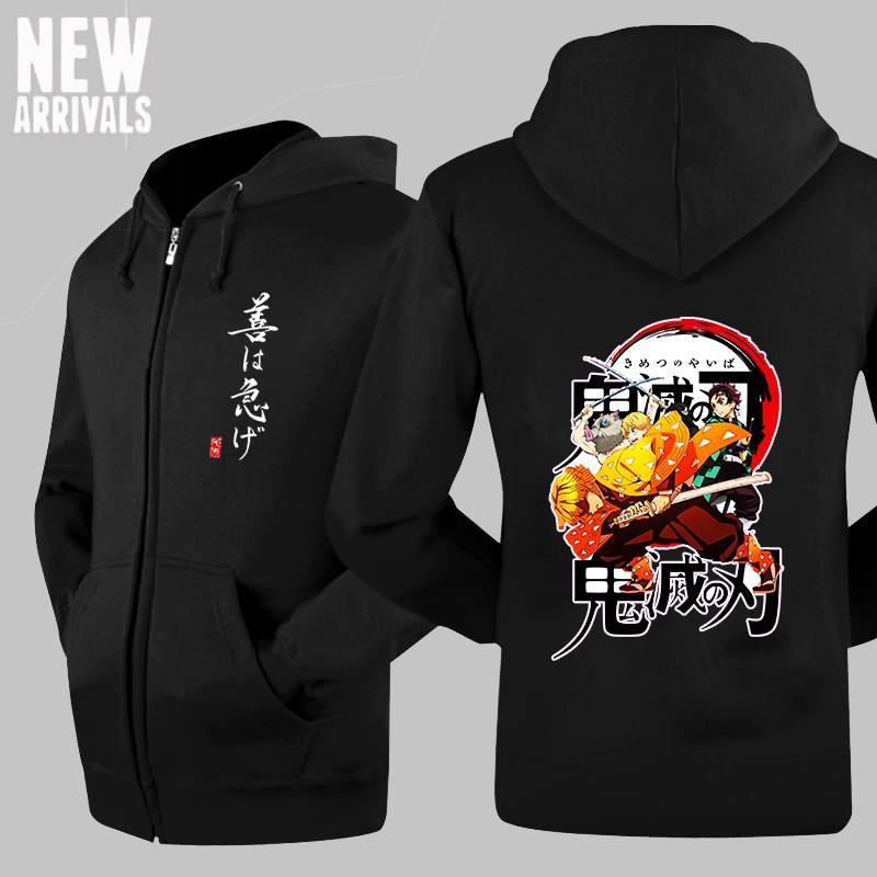Áo khoác Zenitsu - Kimetsu No Yaiba  áo Anime đẹp giá rẻ chất lượng
