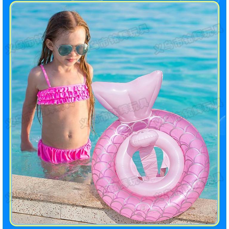 Phao Bơi Xỏ Chân Chống Lật An Toàn Cho Bé Đuôi Nàng Tiên Cá SS-001264
