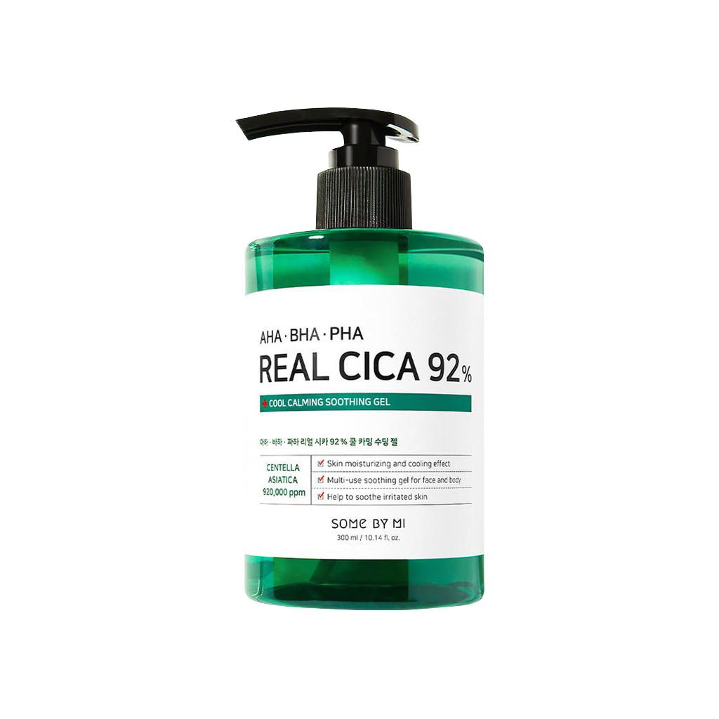 Dưỡng Ẩm Some By Mi AHA-BHA-PHA Real Cica 92% Cool Calming Soothing Gel