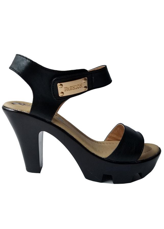 Sandal Cao Gót Nữ Da Bò BIGGBEN Cao Cấp SDCG47
