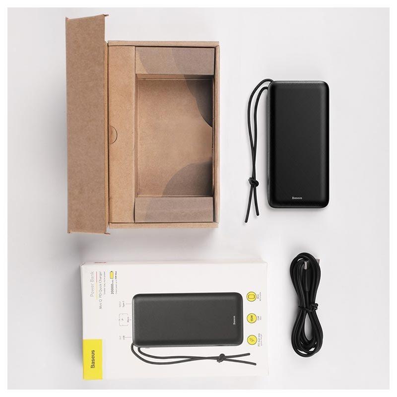 Sạc dự phòng Baseus Mini Q PD Quick Charge 20000mAh - Hàng chính hãng