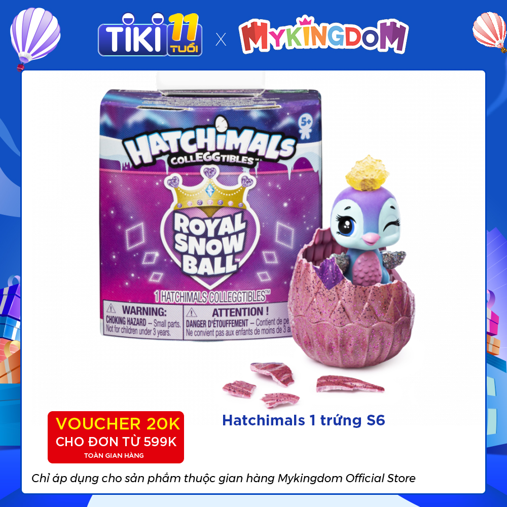 Hatchimals 1 trứng S6 SPIN MASTER 6047179