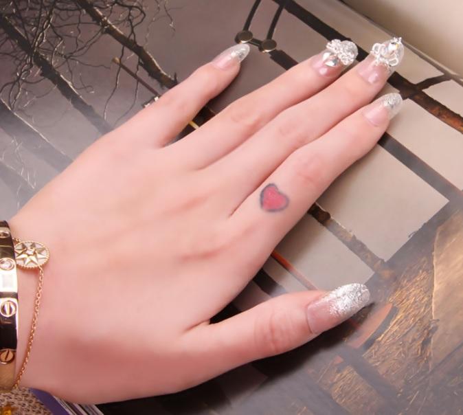 Bộ 24 móng tay giả nail thơi trang (như hình-M408)