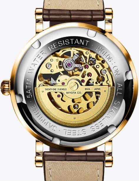 Đồng hồ nam chính hãng Lobinni No.9010-10