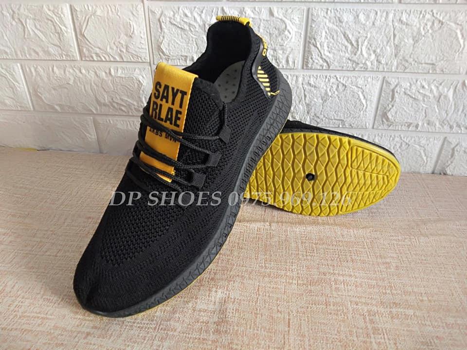 giày thể thao nam màu đen lẻ size_ sale xả hàng giá rẻ