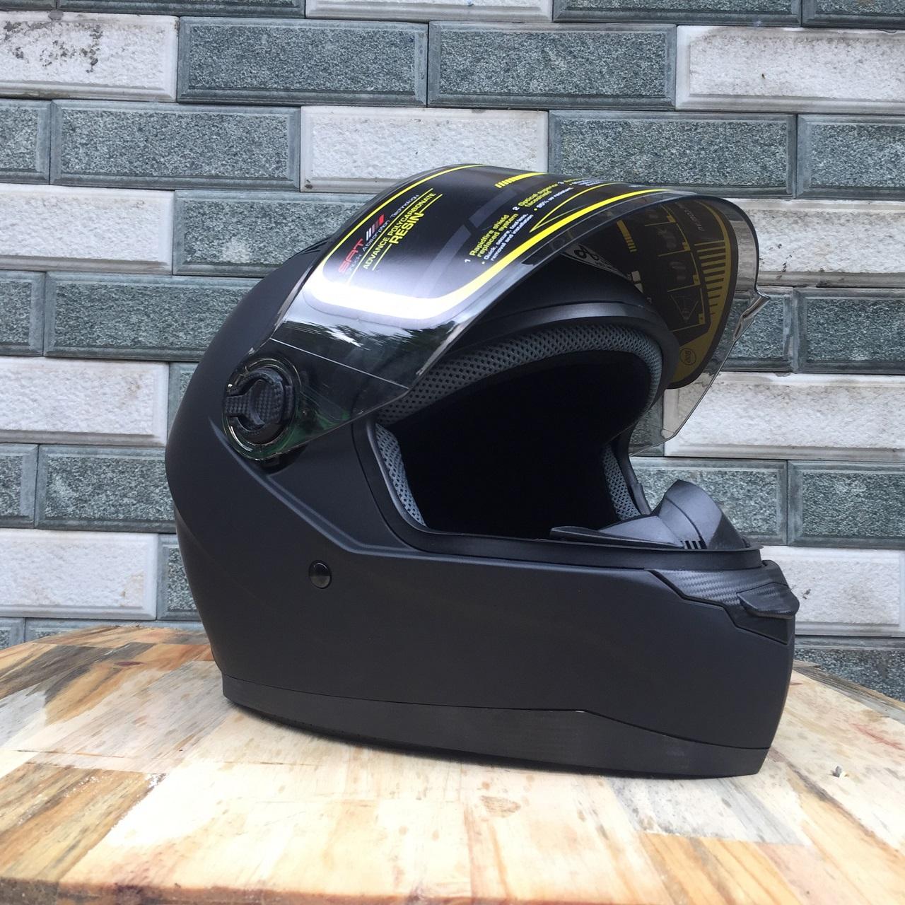 Mũ bảo hiểm Fullface Asia MT136 đen