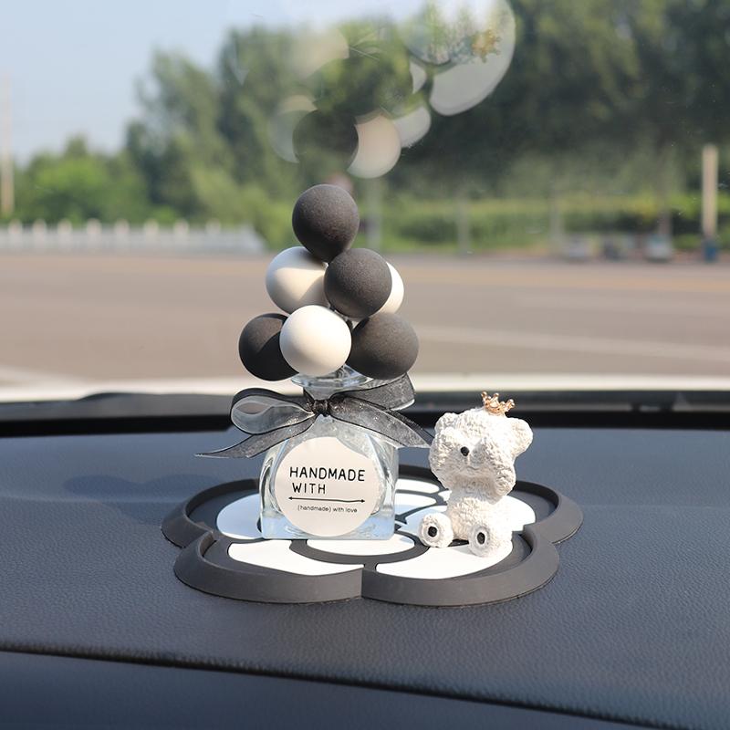 Decor Gấu bịt mắt trang trí taplo ô tô, phụ kiện xe hơi sáng tạo,  đồ chơi ô tô, hoặc để bàn làm việc