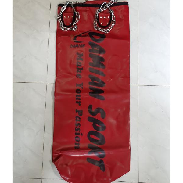 Vỏ bao cát đấm bốc 1m2 dây xích cao cấp Damian Sport Vietnam, có dây đai chịu lực tốt, In máy thẩm mỹ cao