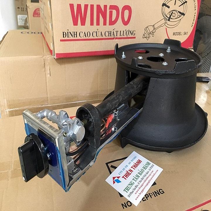 Combo bếp gas khè công nghiệp WinDo. tặng van dây - Hàng chính hãng