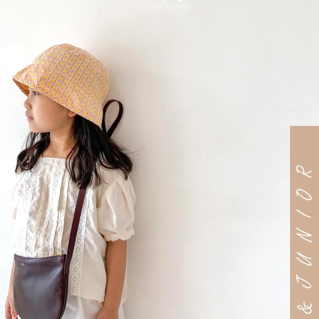 Áo sơ mi vintage bé gái Hàn Quốc