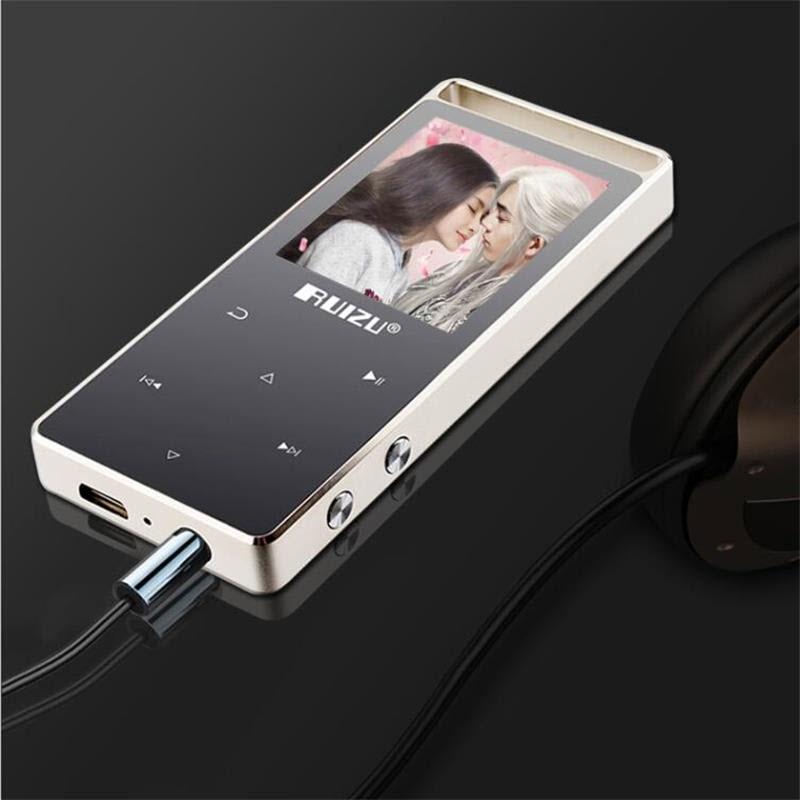 Ruizu D01 Bluetooth - Máy nghe nhạc MP3 Lossless thể thao HiFi Bộ Nhớ Trong 8GB - Hàng Chính Hãng