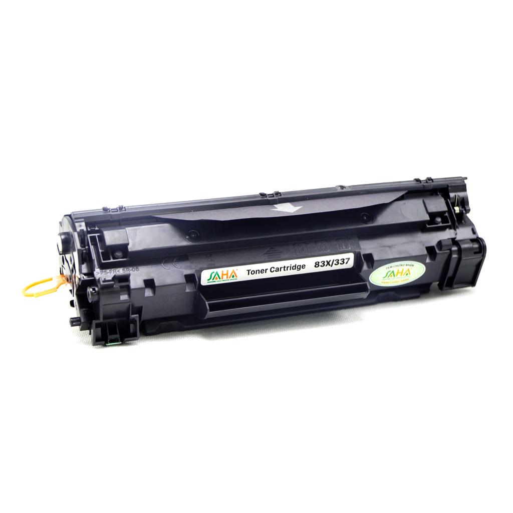 Hộp mực in SAHA 83X/337 cho máy in HP, Canon - Hàng chính hãng