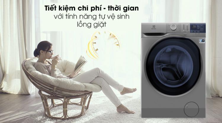 Máy giặt Electrolux EWF8024ADSA - Tiết kiệm chi phí với tính năng tự vệ sinh lồng giặt