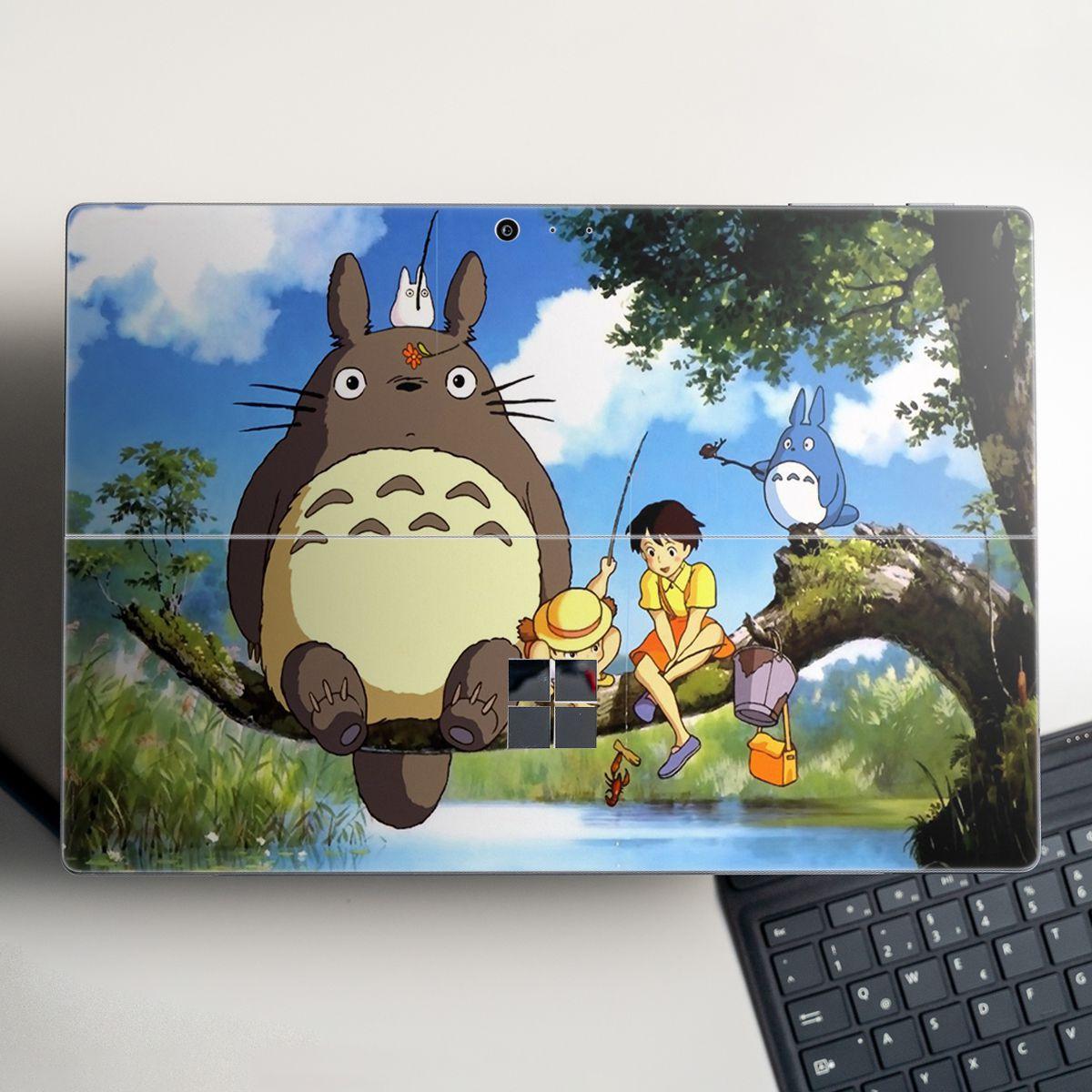 Skin dán hình Ghibli Studio cho Surface Go, Pro 2, Pro 3, Pro 4, Pro 5, Pro 6, Pro 7, Pro X