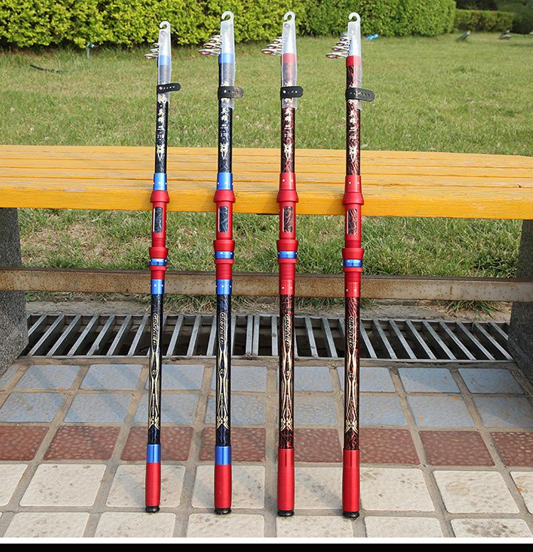 Cần câu cá 2m7 - Cần Chính hãng - Chất liệu carbon cao cấp - Siêu bền - Tặng kèm cước 100m