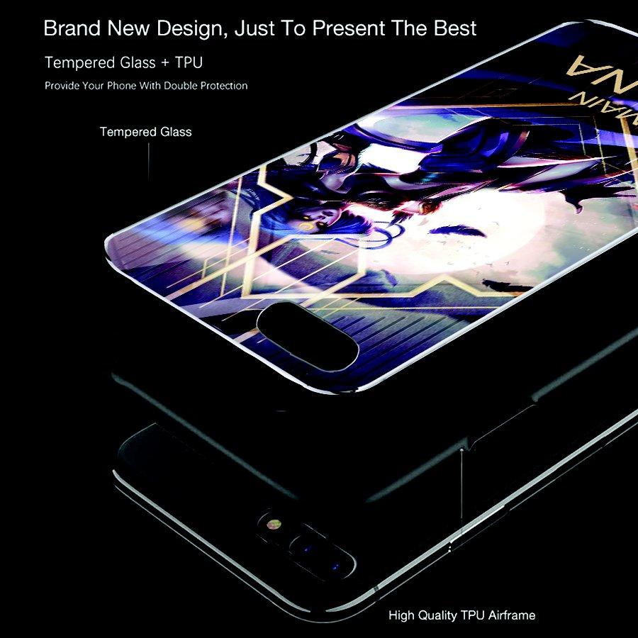 Ốp kính cường lực dành cho điện thoại iPhone 7/8 Plus - liên minh huyền thoại - lmht021