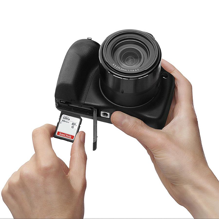 Thẻ Nhớ SDHC SanDisk Ultra 32GB UHS-I - 80MB/s - Hàng Nhập Khẩu
