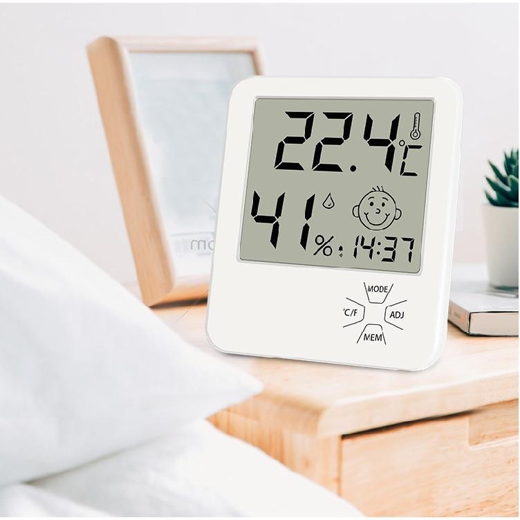 Máy đo nhiệt độ độ ẩm LX-811 ( Tặng 01 bộ 100 ngôi sao trang trí phòng )