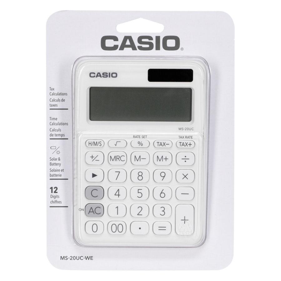 Máy Tính Để Bàn Casio Sắc Màu MS-20UC