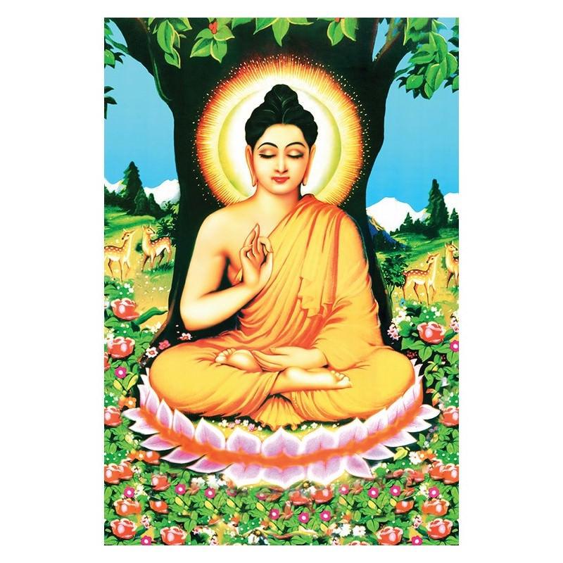 Tranh Phật Giáo Phật Thích Ca Mâu Ni 2043