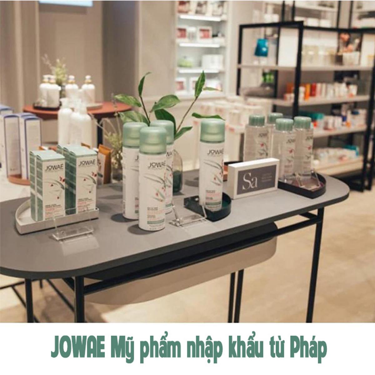 Sữa rửa mặt tẩy trang dạng bọt JOWAE kết cấu bọt mịn dung tích 150ml Mỹ phẩm thiên nhiên nhập khẩu Pháp - MICELLAR FOAMING CLEANER