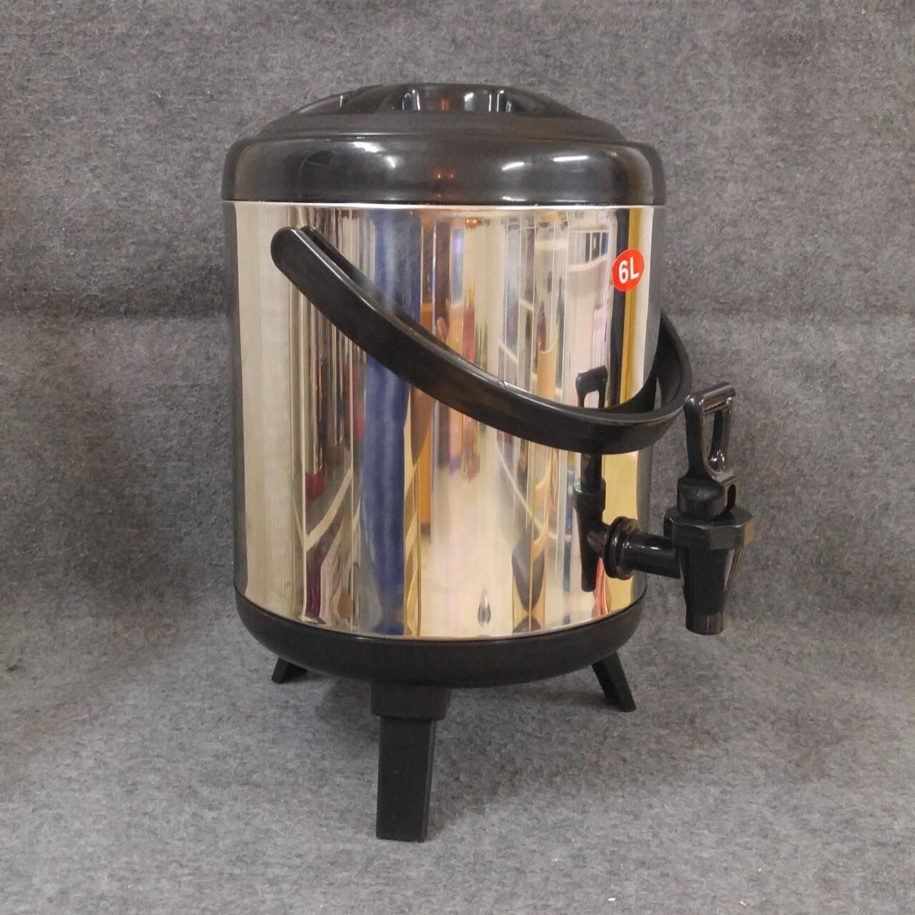 Bình giữ nhiệt, ủ trà Inox dung tích 6 lít
