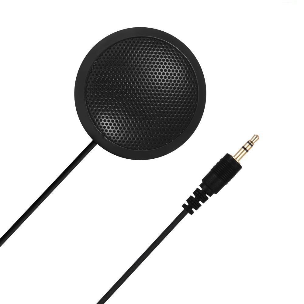 Micro để bàn đa hướng độ nhạy cao, giảm tiếng ồn có giắc cắm 3.5mm dành cho máy tính bàn/bút ghi âmh, hội nghị video, giáo dục từ xa, webcast Internet, hát, ghi âm, trò chơi kèm hộp đựng cao cấp