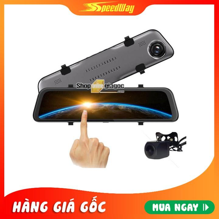 Camera Hành Trình Ốp Gương Cảm Ứng 12 Inch