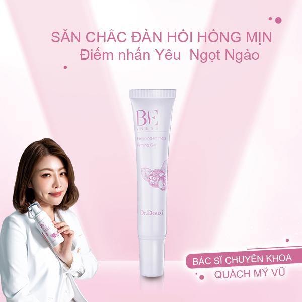 Set 3 Sản Phẩm Vệ sinh Hồng Mịn Dr.Douxi- Sữa tắm Vệ Sinh kháng khuẩn vùng kín + Xịt Phụ Khoa+ Gel làm hồng se khít