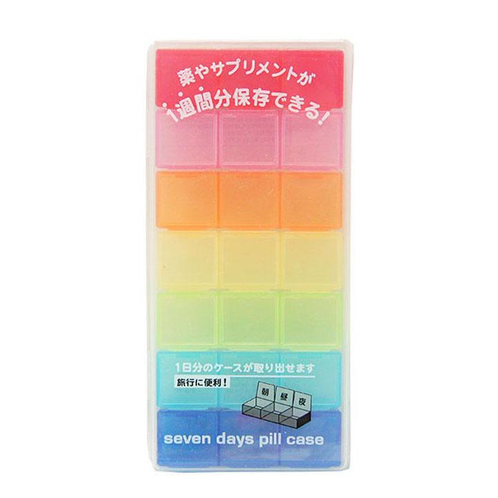 Hộp Chia Thuốc 7 Ngày Hàng Nội Địa Nhật Bản