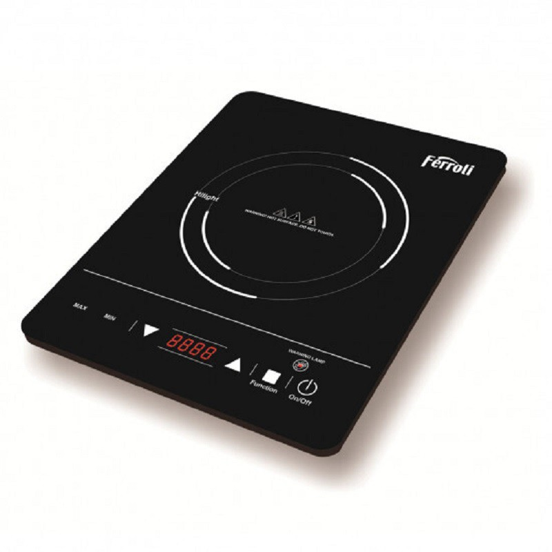 Bếp hồng ngoại đơn FERROLI IS2000EC mặt kính sang trọng, điều khiển cảm ứng Hàng chính hãng