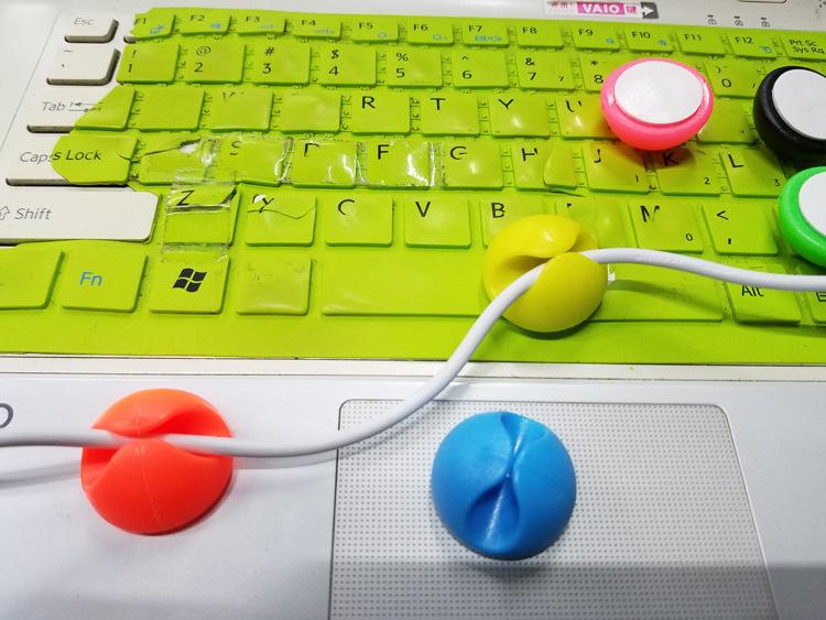 Đèn LED cảm ứng chạm tích hợp đồng để bàn học thông minh đa năng (Tặng 3 nút kẹp cao su giữ dây điện- màu ngẫu nhiên)