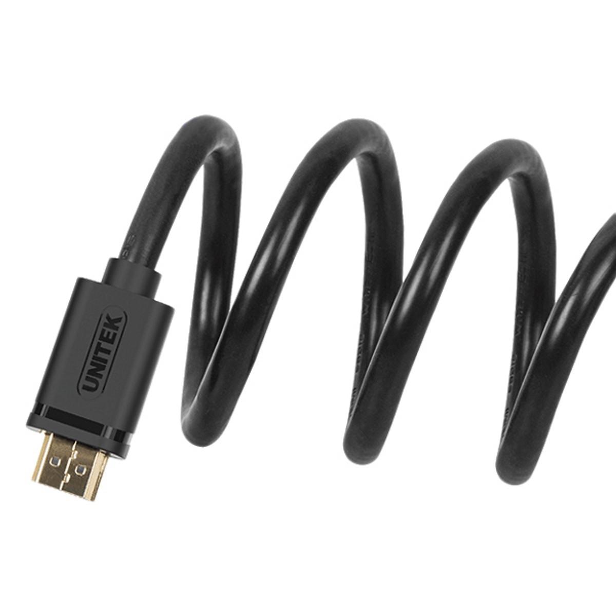 Cáp HDMI 40m Unitek Y-C173 IC khuyếch đại -hỗ trợ chuẩn 3D, 4K*2K - Hàng Chính Hãng