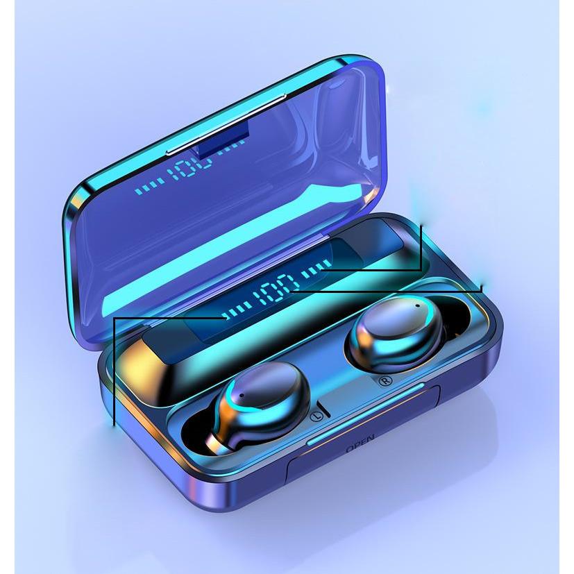 Tai nghe bluetooth 5.0 cảm ứng đa điểm F9-5