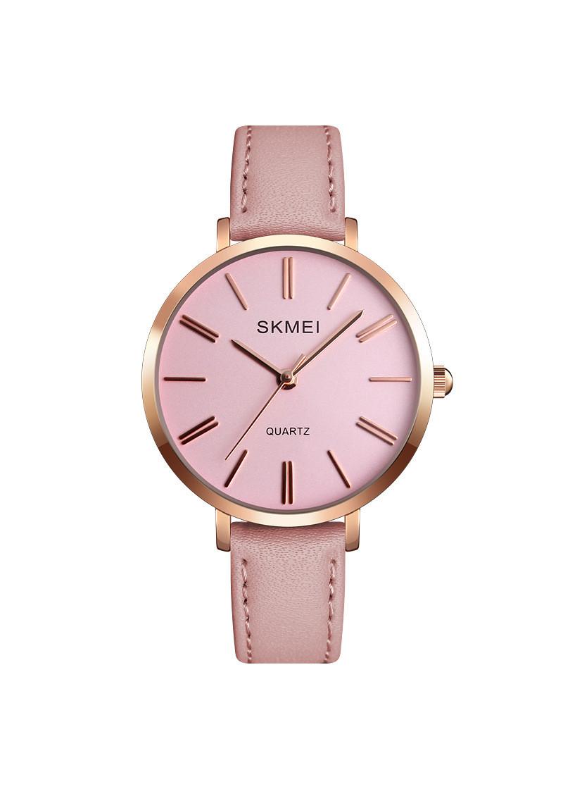 Đồng hồ thời trang cá tính Nữ SKMEI chính hãng SK1397 (Phụ kiện thời trang) fullbox, chống nước - mặt kính Mineral, dây da cao cấp