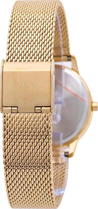 Đồng Hồ Nữ Julius Dây Thép JA-982LB JU1231 (Vàng)
