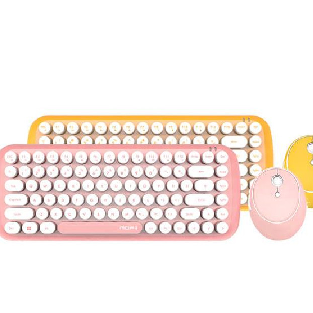 Bộ bàn phím chuột không dây Mofii Candy S- Hàng chính hãng