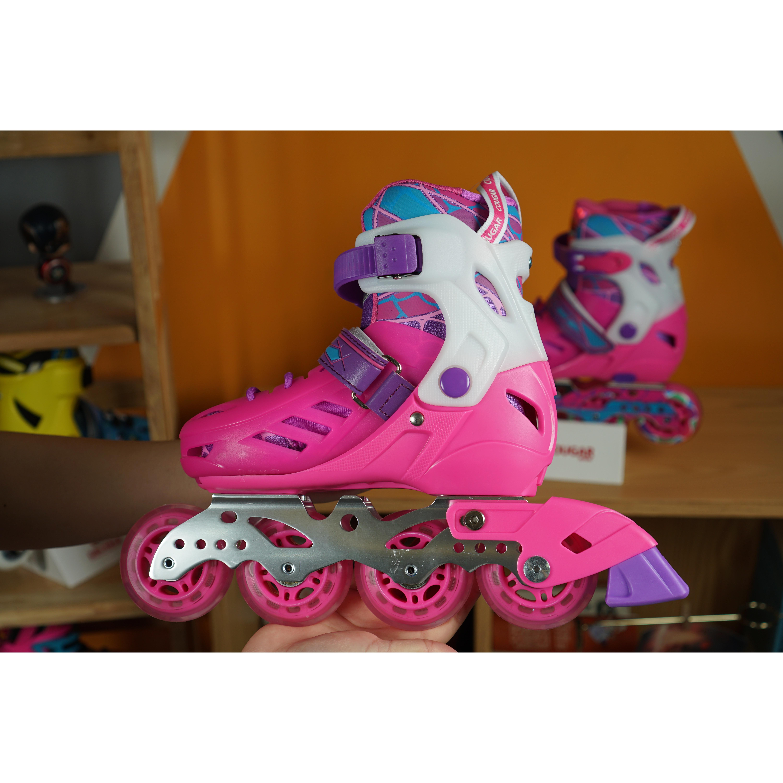Giày trượt Patin trẻ em Cougar CR1 hàng chính hãng + có thể điều chỉnh 3 size + boot có thể tháo rời+ hàng cao cấp