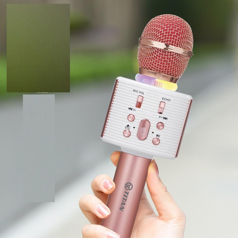 Mic Hát Kèm Loa Bluetooth TITAN - M04 Hàng chính hãng
