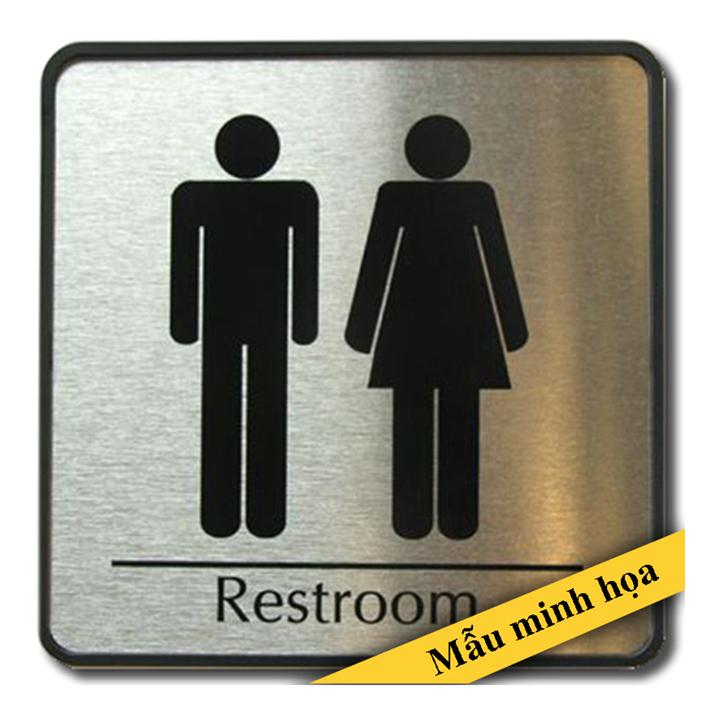 Biển chỉ dẫn toilet WC_43