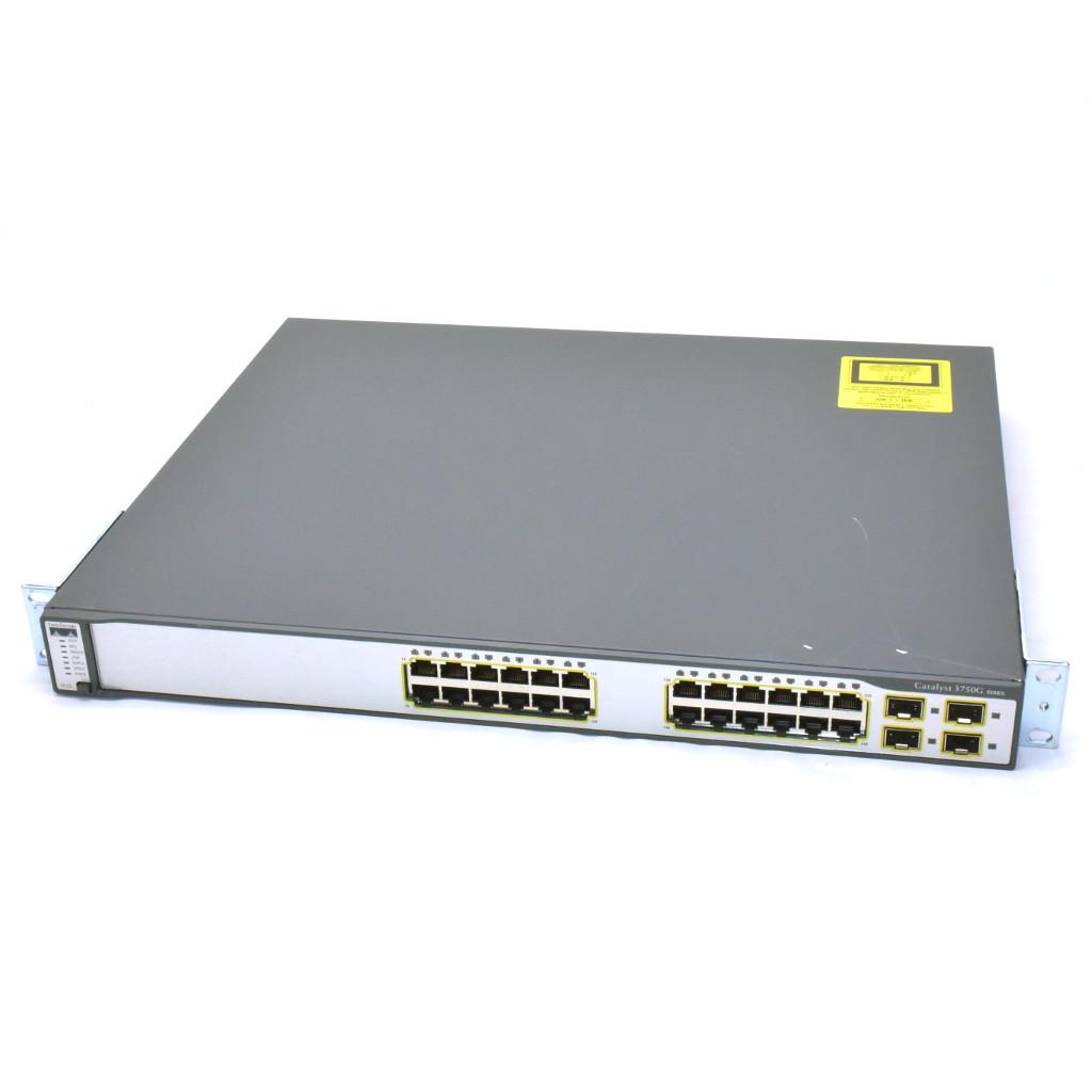 Switch CISCO Catalyst 3750 WS-C3750G-24TS-S1U - Hàng chính hãng