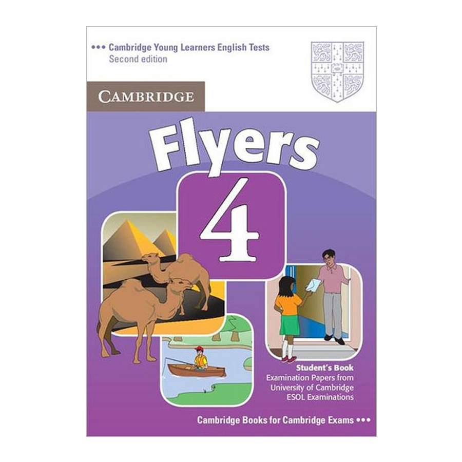 Cambridge Young Learner English Test Flyers 4: Student Book